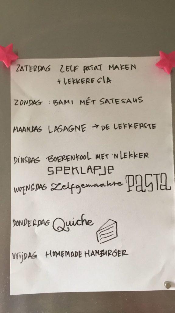 eetplanning